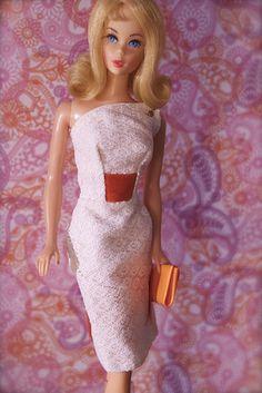"""Vintage Barbie - Mod Era Twist n' Turn Barbie - """"Marlo Flip"""" Blonde"""
