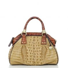 Lisa Dome Satchel Bag by Brahmin
