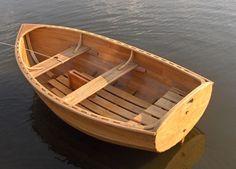 Iain Oughtred's design dinghy Auk - Boat Design Net Gallery