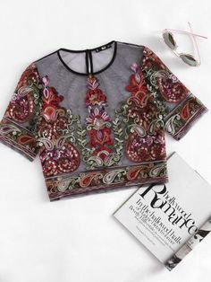 Blouses - Silk, Pink, Red, Blue & Long Sleeve Blouses | Romwe.com