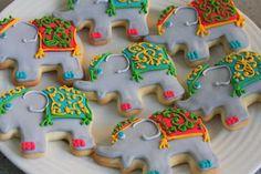 bollywood elephant cookies