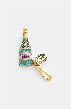 Juicy Couture Champagne Charm