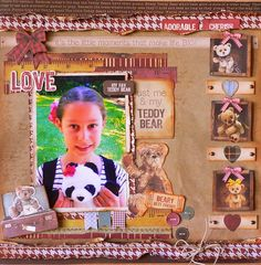 ADRIANA BOLZON  **  AB  INSPIRATIONS: Kaisercraft Teddy Bear's Picnic