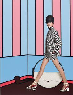 Extraordinarios fashion collages por Christos... | Manuel Vera