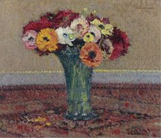 Anemones 1920 | Henri Martin | oil painting