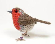 Scultura di britannico robin fibra arte uccello