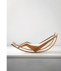 100 Design Relics From Niemeyer, Le Corbusier, FLW And More. Franco Albini:  Early And Rare Rocking Chaise Longue,circa Image Courtesy Of Phillips
