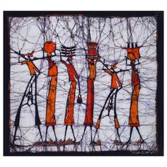 @Overstock.com - Hand-batiked 'The Walk Home' Wall Hanging (Mozambique) - This one-of-a-kind, unframed wax batik from Mozambique makes a stunning piece of African wall art and a great conversation piece. The batik is signed by the artist Mandlate. http://www.overstock.com/Worldstock-Fair-Trade/Hand-batiked-The-Walk-Home-Wall-Hanging-Mozambique/8398596/product.html?CID=214117 $84.59