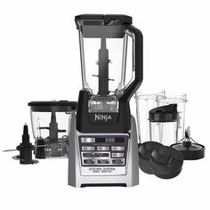 Ninja Auto-iQ Total Boost Kitchen Nutri Blender System with 1500 Watts professional base- BL687CO (Certified Refurbished)