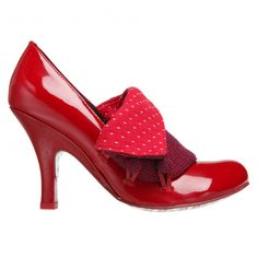 I'm in the market for red shoes for a fall wedding. Not sure this is what the bride has in mind, but I love them!