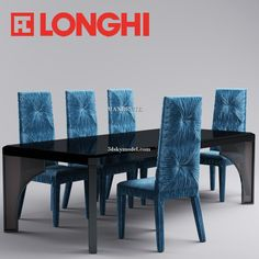 LONGHI CHAIR and table 3dsmax 3dmodel