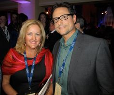 Beth Hilton and Al Conti at a #Grammy nominee event in the Wilshire Ebell Theatre in #LosAngeles