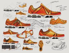 New Balance Ideation - Ideation sketches for projects that never quite went anywhere. 2008 - current.