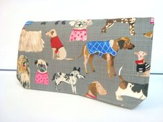 Coupon Organizer Cash Budget Organizer Holder- Attaches to your Shopping Cart Multi Dogs Dog Lovers by GrandmasLittleLilly on Etsy