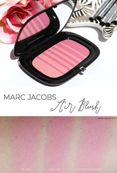Marc Jacobs Air Blush Review and Swatches #makeup #beauty #blush