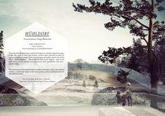 Architecture Portfolio 2013 by Stephanie Braconnier, via Behance