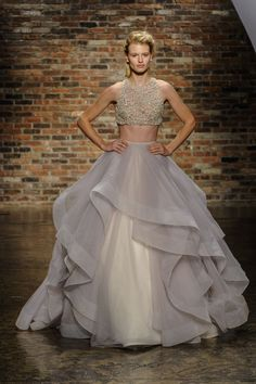 Oh this is it!!! I have found my wedding dress..I'm so In love with this dress!!! Fashion Friday: Hayley Paige Fall 2014