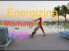 Tara Stiles' Morning Yoga for Energy - An 11 minute that I find nice for stretching my back and chest while warming up my legs.