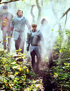 merlin bbc...my new obsession. I'm in love with King Arthur