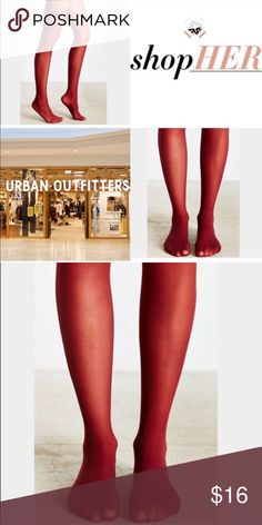 ❗️1 LEFT Urban Outfitters Sheer Berry Tights NWT ❗️1 LEFT Urban Outfitters Sheer Berry Tights. NWT. Size S/M. Feel free to make an offer! Im having a huge New Year Cleanout Sale ends soon! I'm selling to the first reasonable offer I receive. Discounts on bundles ;-) Urban Outfitters Intimates & Sleepwear Shapewear