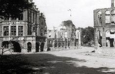 De Walburgstraat kort na de capitulatie in 1945 - Serc