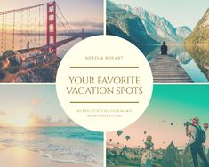 I asked people about their favorite vacation spots and these are some of their answers. Marketplace Of Ideas, Tourist Sites, Disney World Florida, Island Beach, Disneyland Paris, Vacation Spots, Beautiful Gardens, Travel Destinations, Tourism