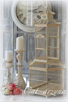 cat-arzyna:  Romantic shabby chic decorating