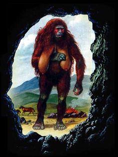 Almas are elusive and savage man-beasts that dwell into the mountain ranges of Kazakhstan and Mongolia Bigfoot Pictures, Lago Ness, Prehistoric Man, Saltwater Crocodile, Man Beast, Bigfoot Sasquatch, Komodo Dragon, Walk The Earth, Prehistory