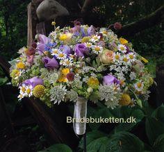 Grøftekants brudebuket
