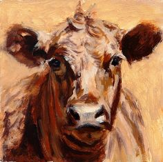 Denise Rich | OIL | Red Angus Study