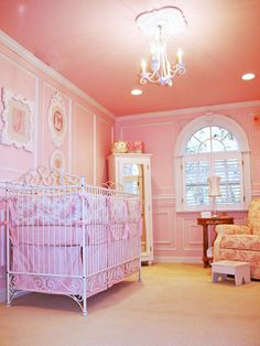 ♡ SecretGoddess ♡ www.pinterest.com/secretgoddess/  Beautiful pink nursery