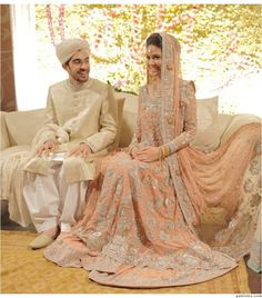 Pakistani Bridal wear #<3 via Evolution Of A Queen