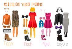 DIY Halloween Costumes: Winnie the Pooh by lauren8applepie on Polyvore…