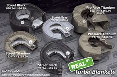 Real Street Performance T3/T4 Turbo Blanket