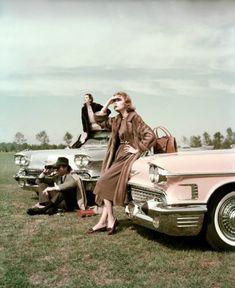 Cadillacs. ca. 1957Photo John Rawlings