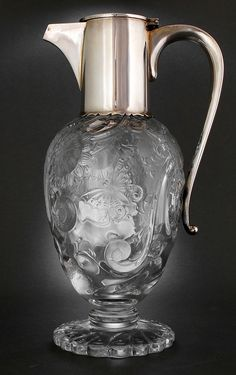 John Grinsell , London - Glass by Thomas Webb - masterly engraved by William Fritsche, Stourbridge