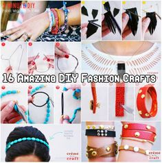 16 Amazing DIY Fashion Crafts