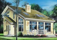 Roof style - House plan W2938 by drummondhouseplans.com