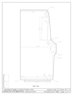 Donkey Kong Jr. schematic Source: http://www.jakobud.com/