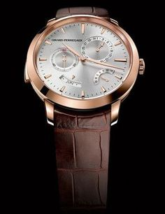 Girard-Perregaux 1966 Minute Repeater Annual Calendar & Equation of Time Pink Gold Watch 99651-52-131-BKBA