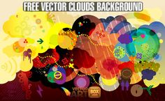 http://vectorartbox.com/colorful-clouds-background/