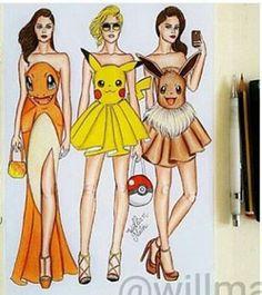 Pokémon dresses