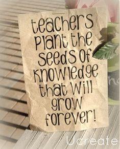 Teacher Appreciation Garden Gift!