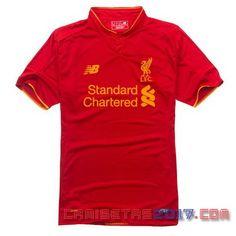 Camiseta Tailandia Liverpool 2016 2017 primera