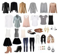 Capsule Wardrobe by odessa8812 on Polyvore featuring polyvore, fashion, style, Diane Von Furstenberg, Pure Collection, Karen Millen, LE3NO, Vero Moda, Topshop, Glamorous, Zara, Marc by Marc Jacobs, Joseph, Chicwish, maurices, NIKE, Gianvito Rossi, Charlotte Russe, River Island, Majorica, Child Of Wild, H&M, Calvin Klein, Etro, Peach Couture and clothing
