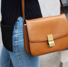 4005a4f11510 Céline brown box bag - Available at   picture by Amsterdam based Gallery  Tami Kern Depot