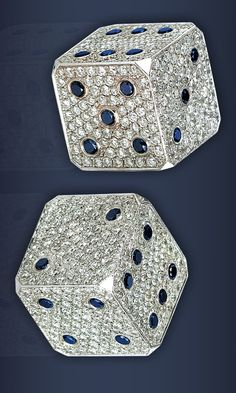 Diamond and Sapphire Dice