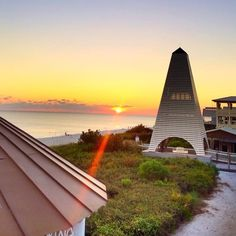 The first #sunset of fall in #SeasideFL. #30a @budandalleys