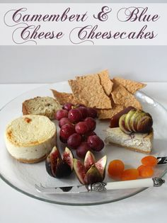 Cheese Plate Cheesecakes: Camembert & Blue Cheese Cheesecake – Daring Bakers April 2009 challenge