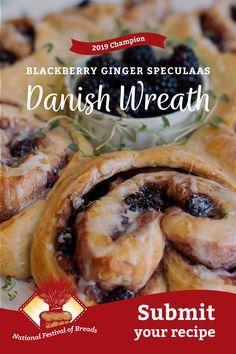 Breakfast Dishes, Breakfast Recipes, Danish Food, Danish Pastries, Cookie Recipes, Dessert Recipes, Finnish Recipes, Homemade Pastries, Sweet Bread